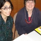 Janet Kerans and Mely Bochman